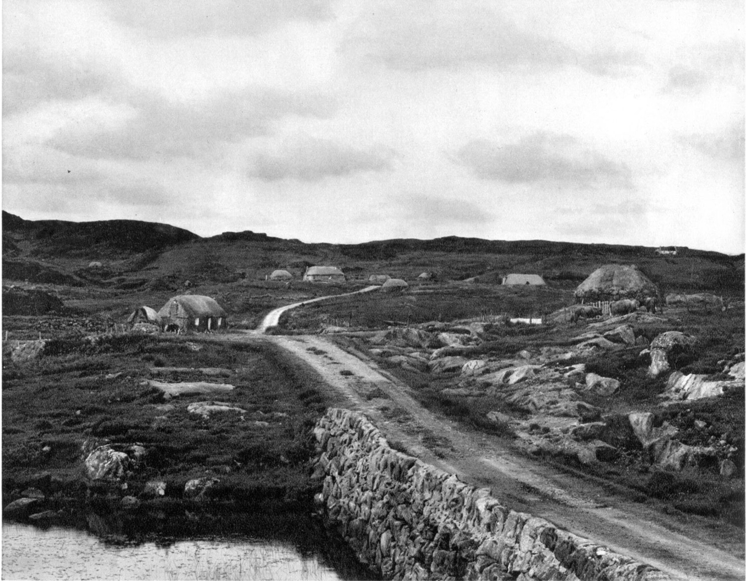 The road, South Lochboisdale, Paul Strand, Tir a' Mhurain 1962