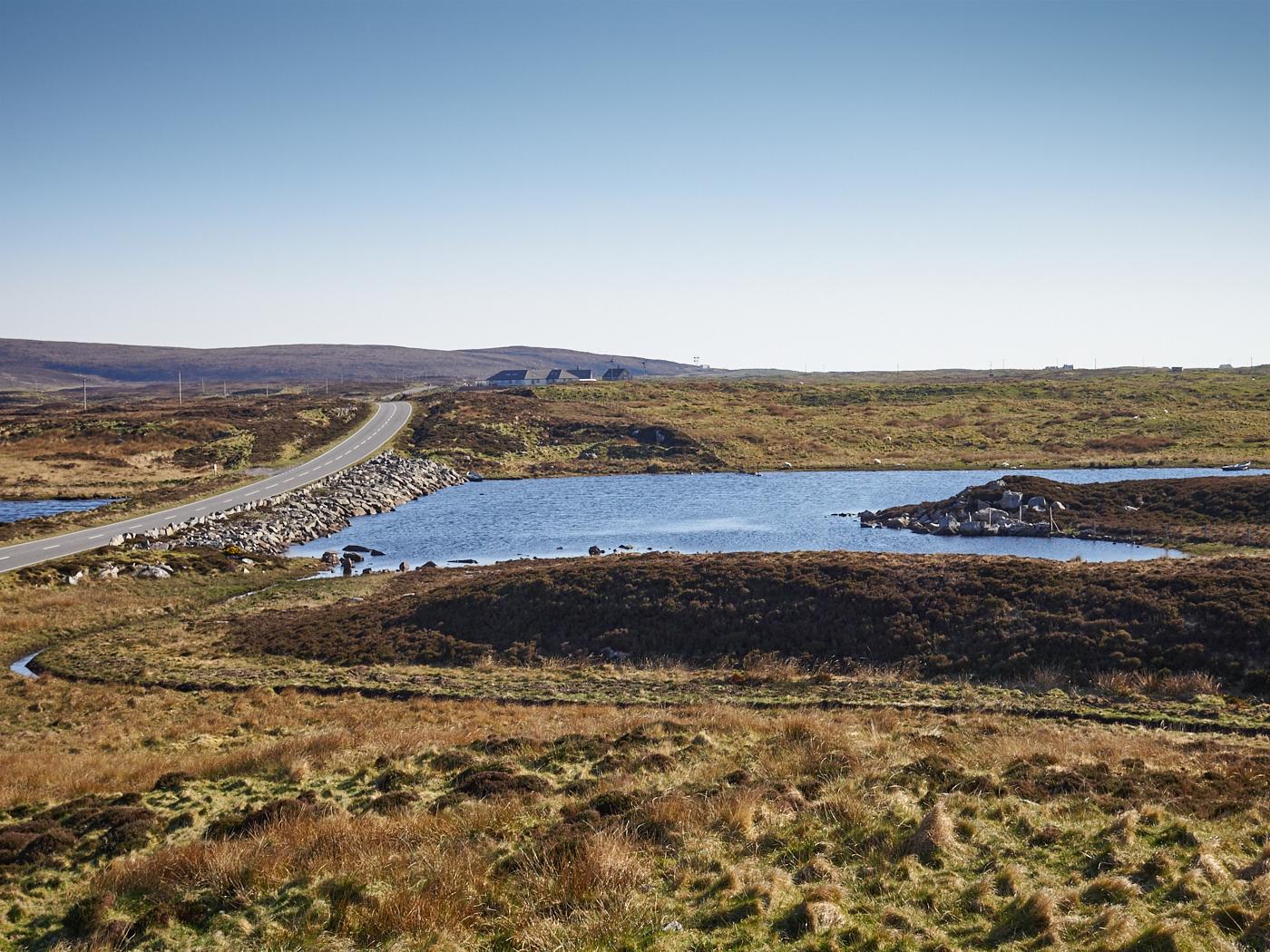 Loch Ollay causeway. Mark Farrington, 2016