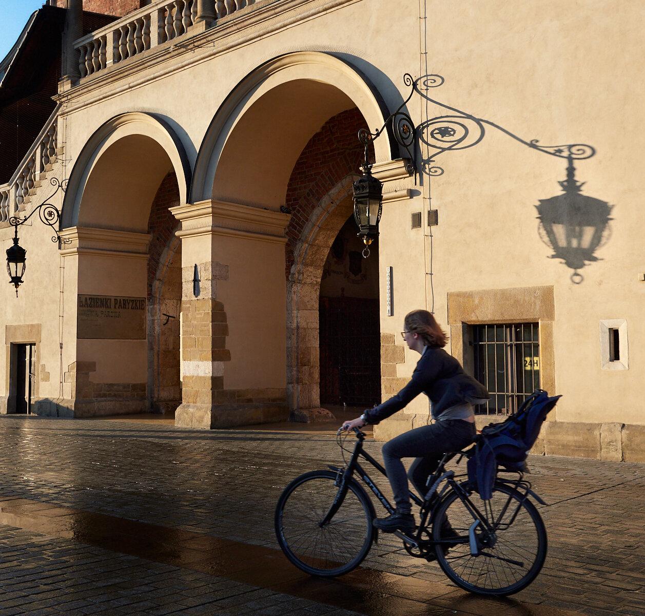 Rynek Główny cyclist