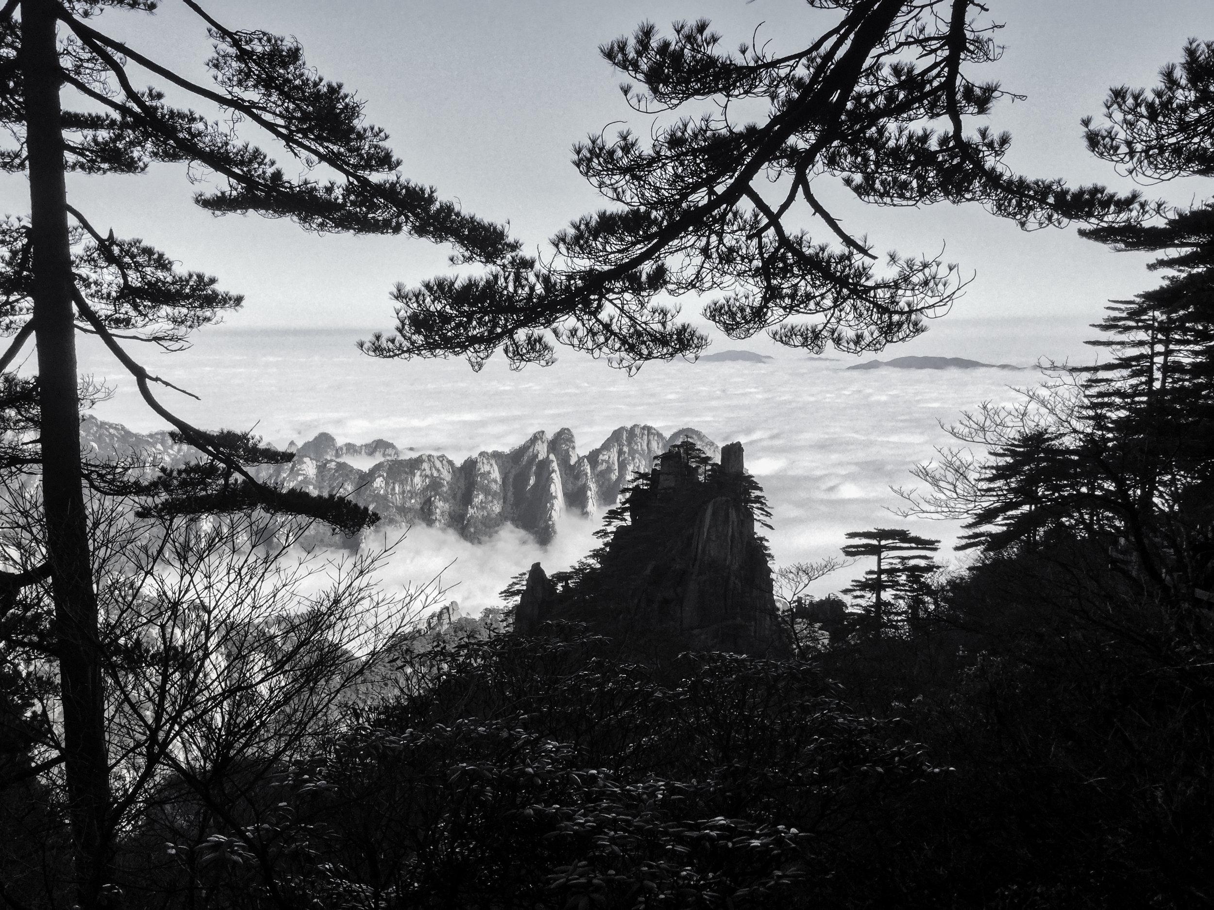 黄山 - Huangshan -Yellow Mountain, China