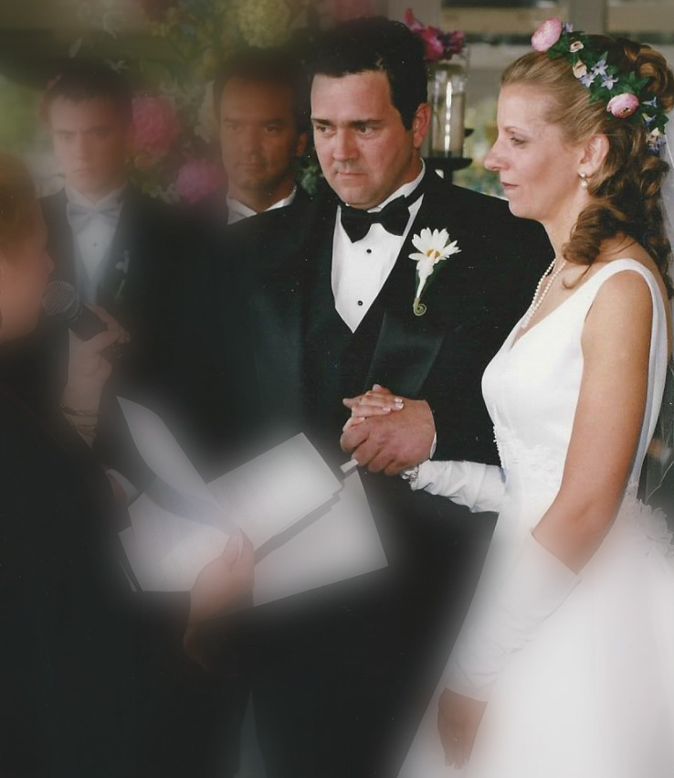 "We took those vows pretty seriously in 2001 ... just a year later we'd come to appreciate the true meaning of ""commitment."""