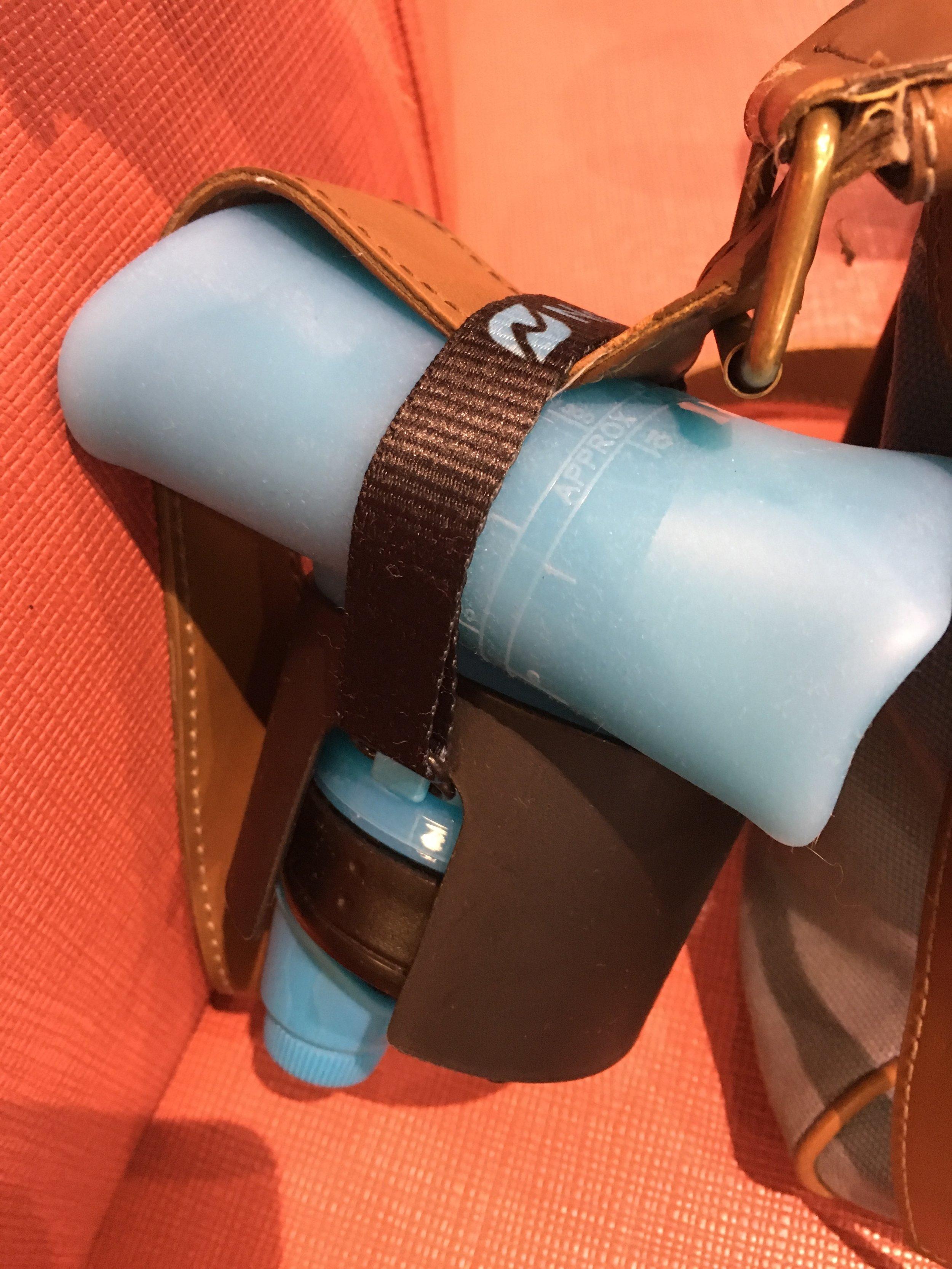 Nomader rolled for TSA screening