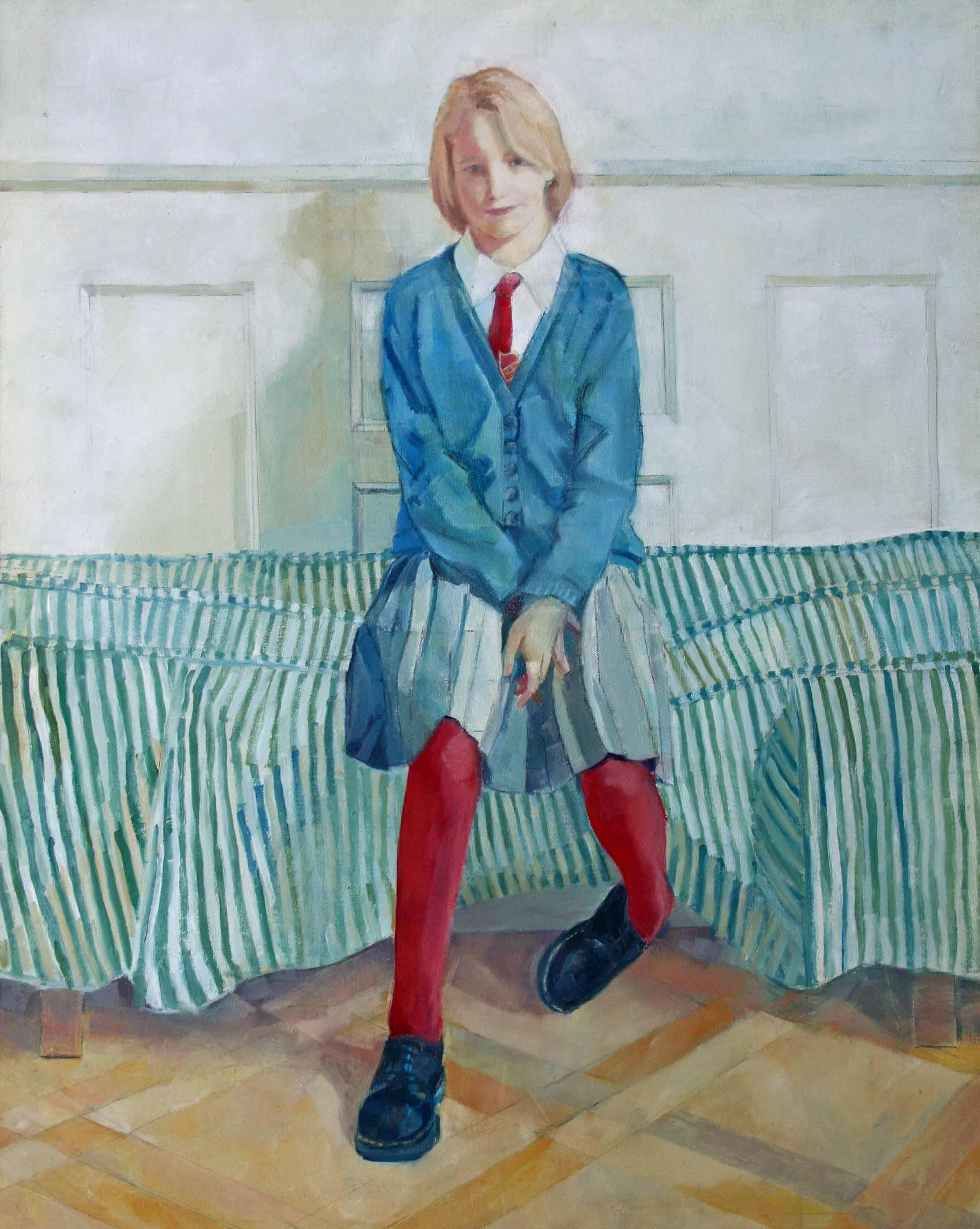 80 x 65 cm Harriet, Oil on Canvas