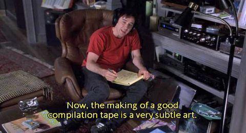 Fra filmen   High Fidelity, 2000