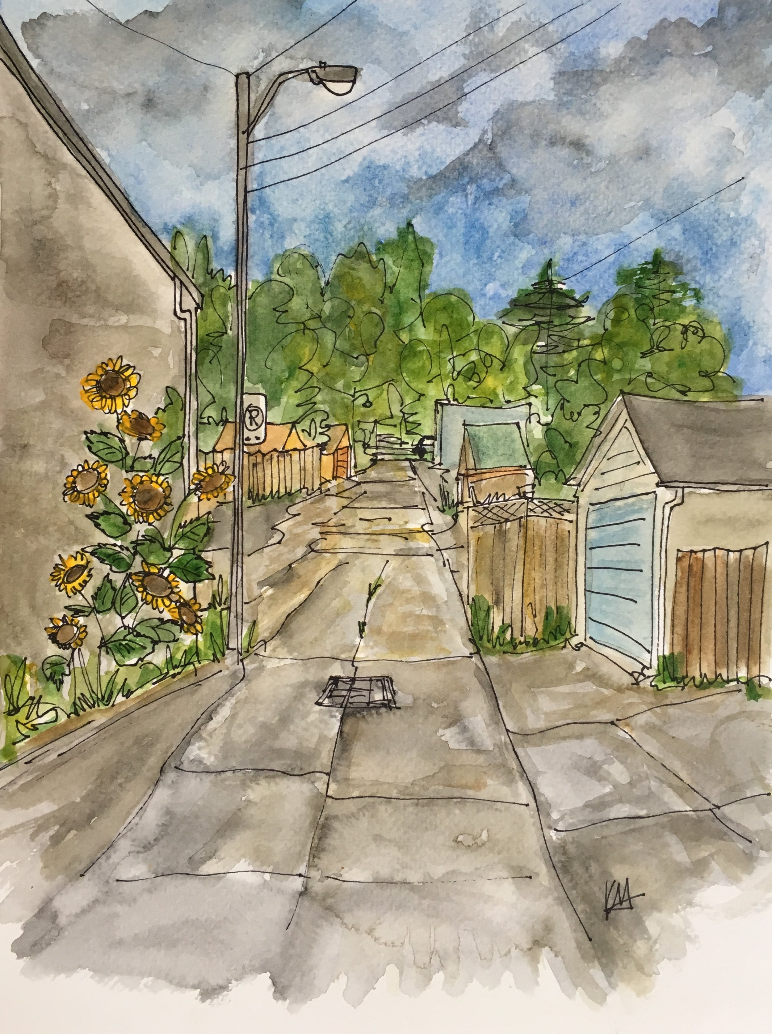 Sunflower Lane