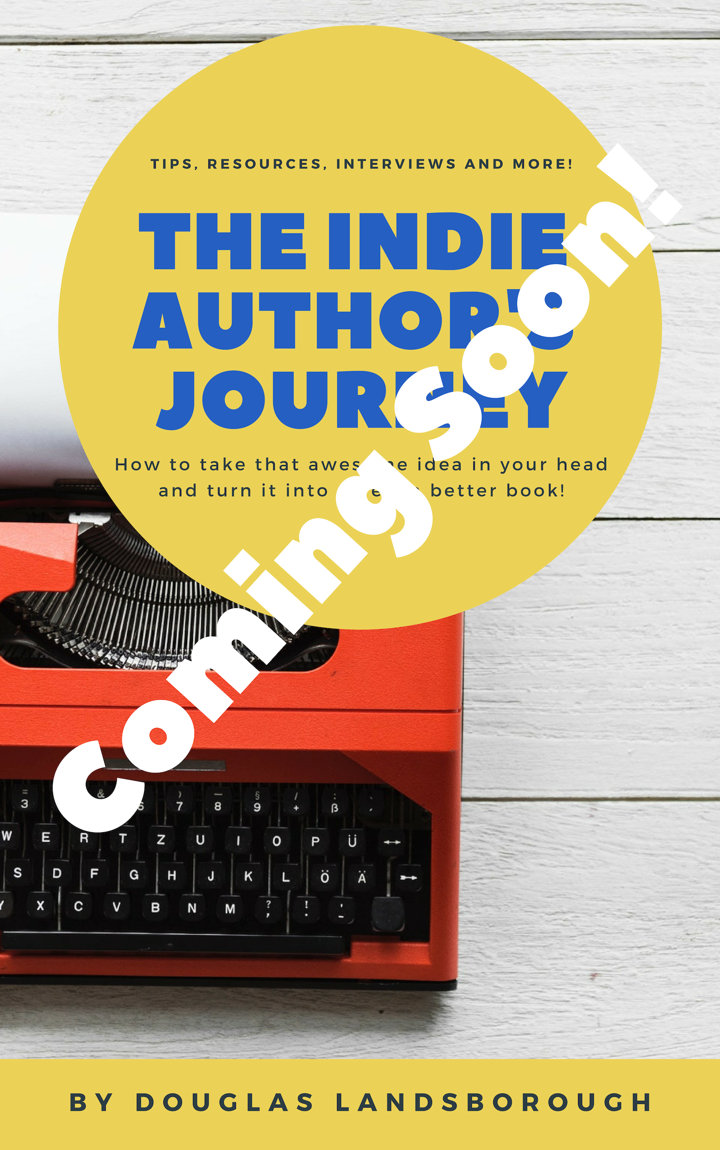 The Indie Author's Toolkit Cover