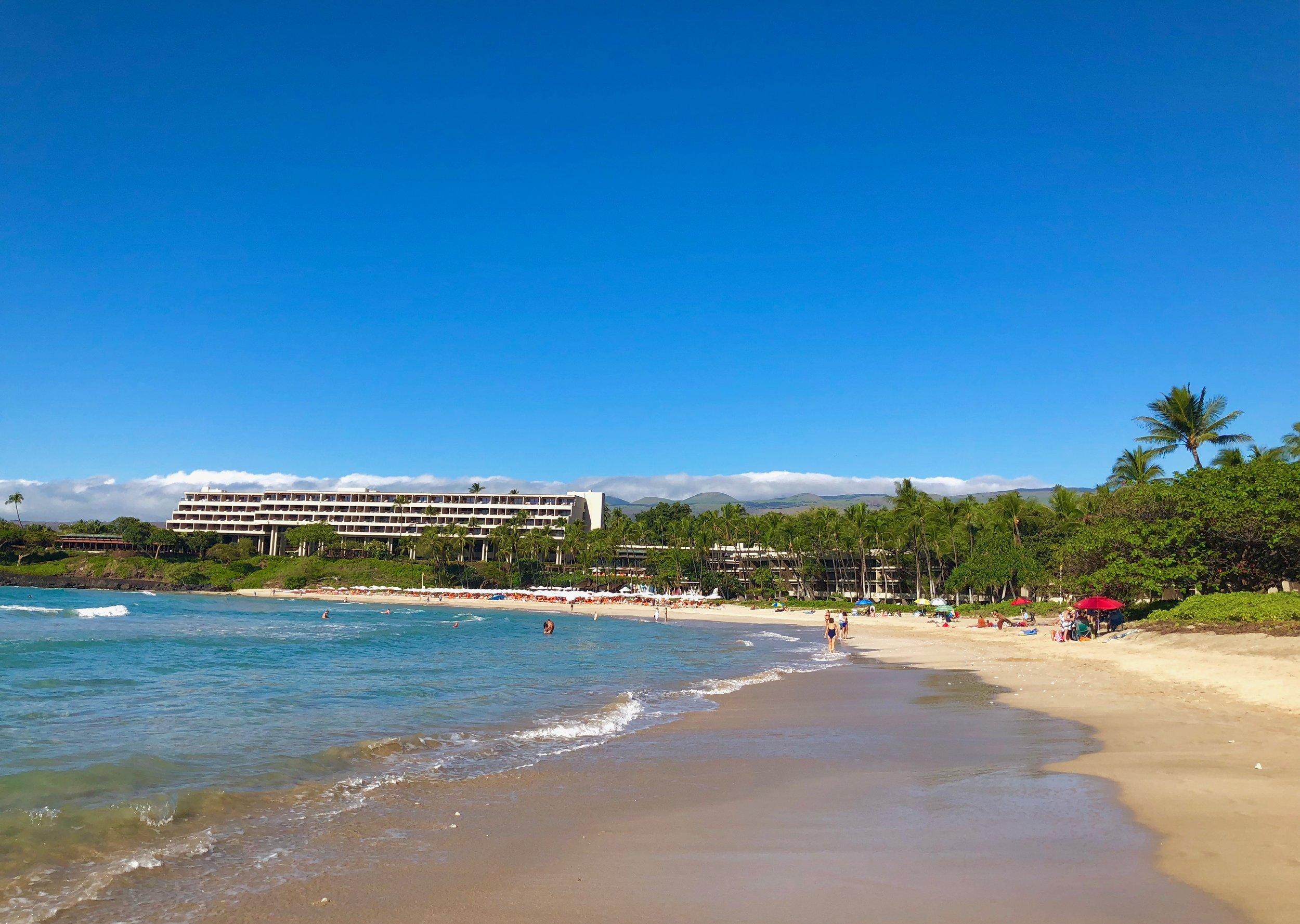 The Beach at the Mauna Kea