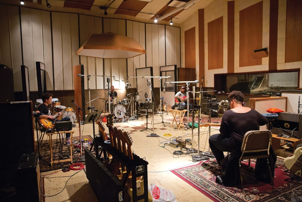 Alabama Shakes recording Sound and Color at Sound Emporium Studios