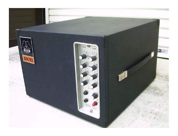 """The AKG BX 10 was marketed as """"the first truly portable two channel reverberation unit"""" and was based off the design of the much larger BX20E."""