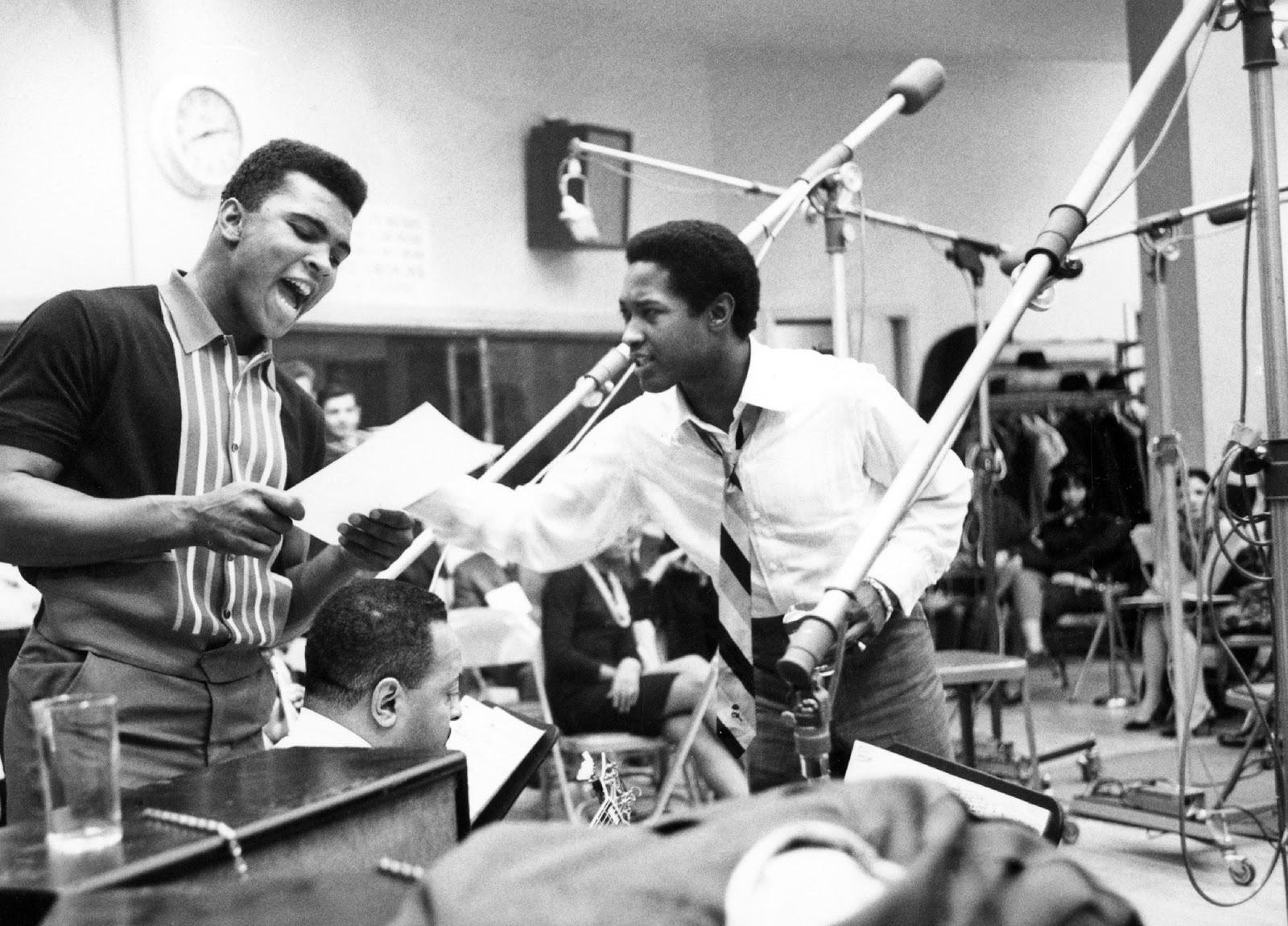 Sam Cooke in Studio in 1964