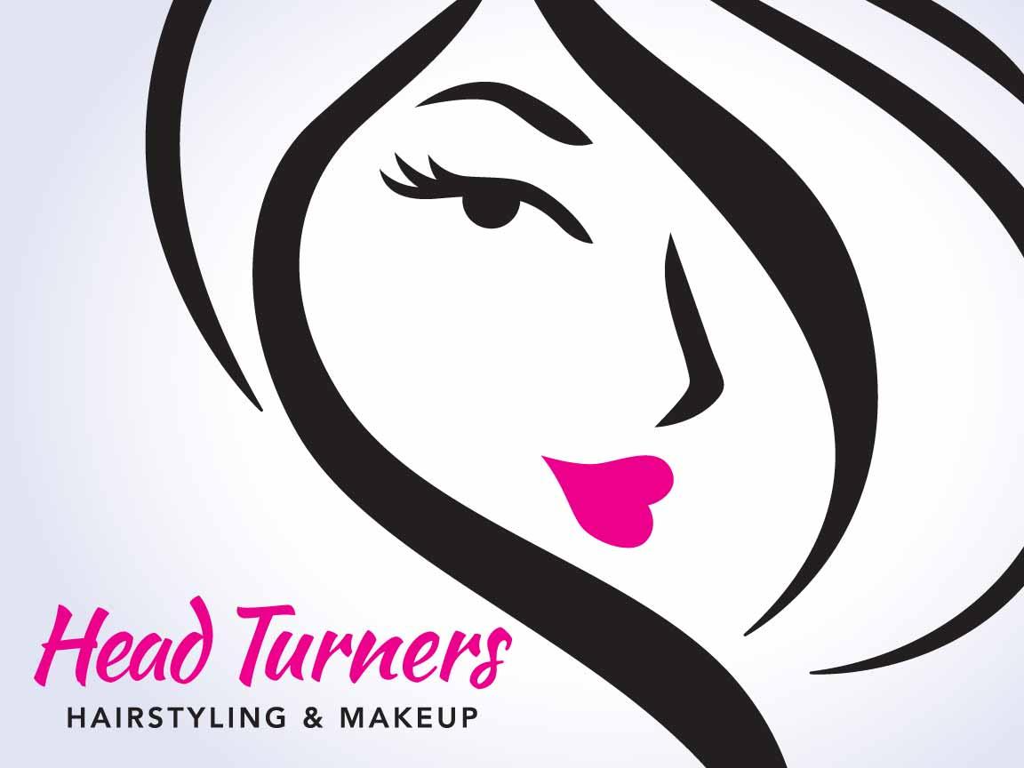 Head Turners Salon Logo & Website