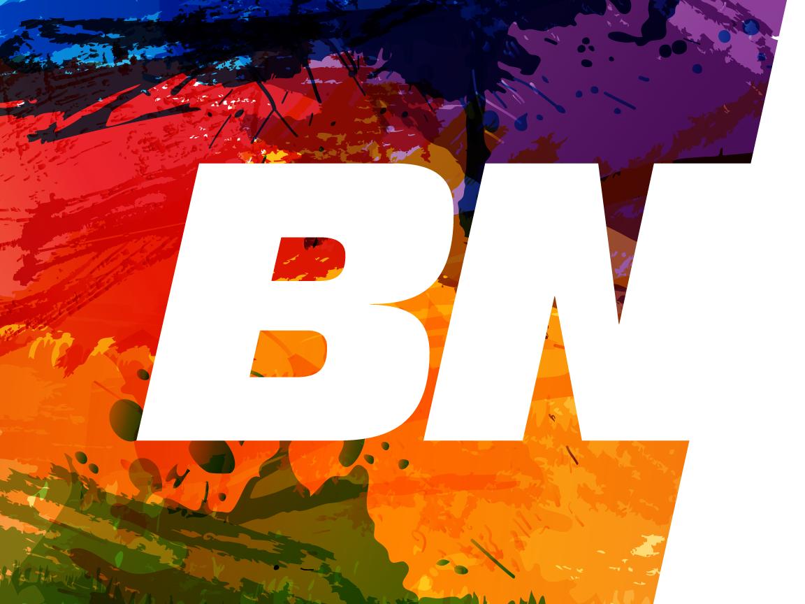 BN Printing Logo, Identity & Website