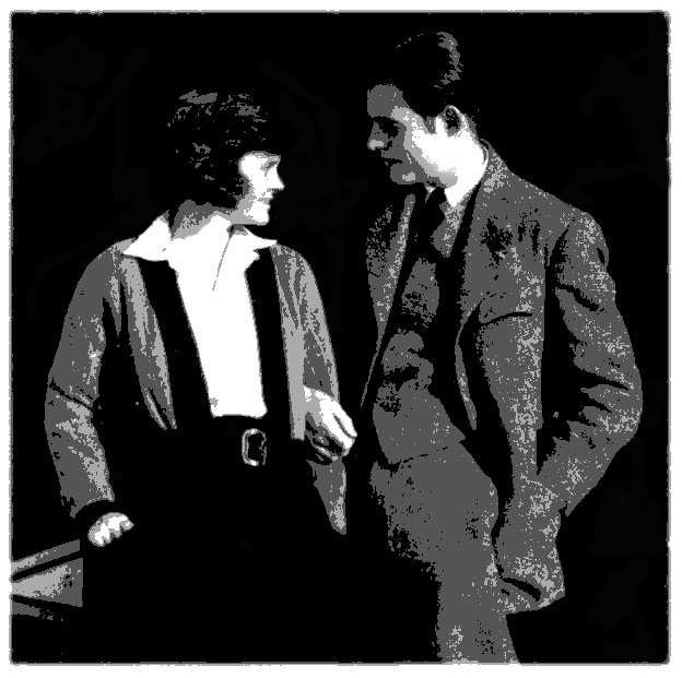 Hadley Richardson and Ernest Hemingway