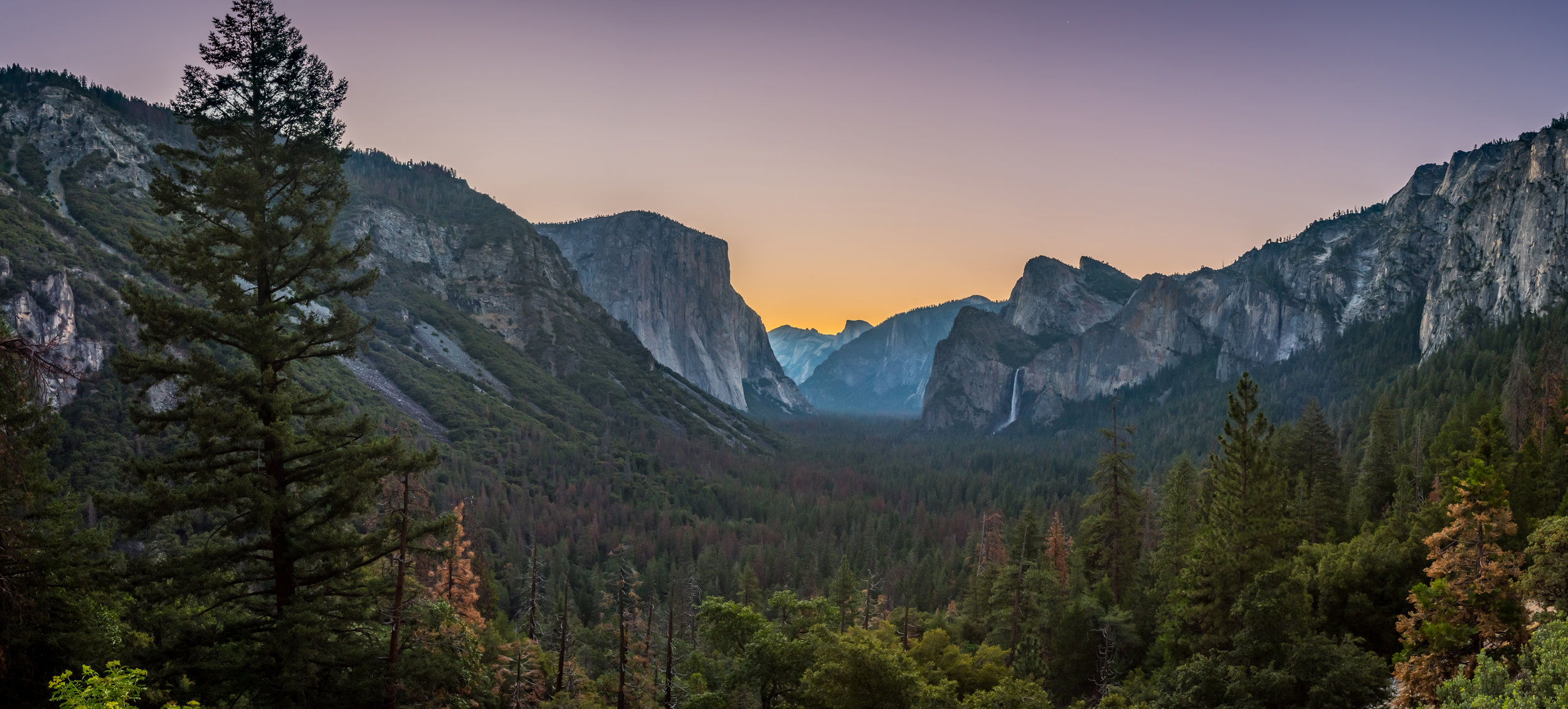 Dawn Breaks Over Tunnel View