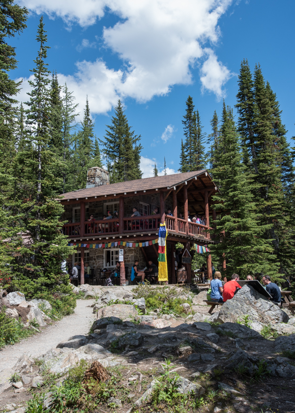 Plain of the Six Glaciers Tea House