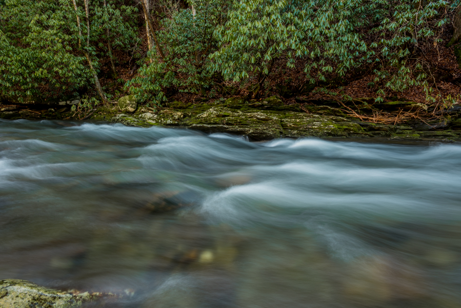 Water Rushing in Deep Creek