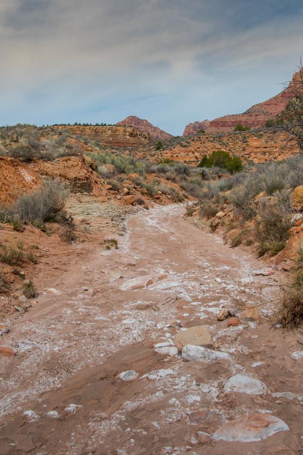 Looking Down Huber Wash in Utah