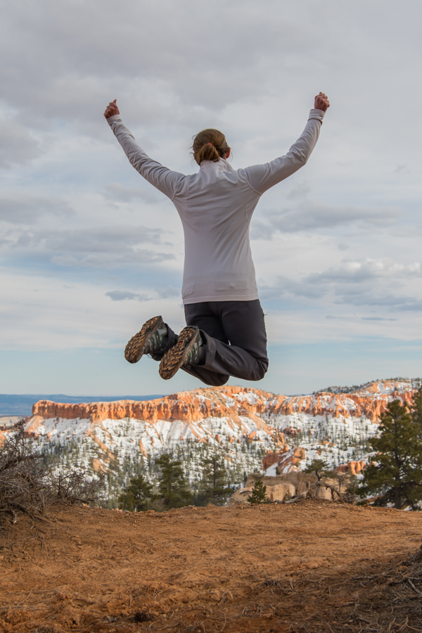 This is how I felt upon first seeing the hoodoos in Bryce Canyon.