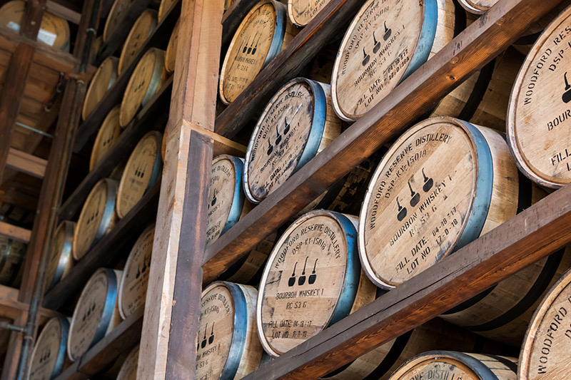 Angled View of Aging Bourbon at Woodford Reserve (1).jpg