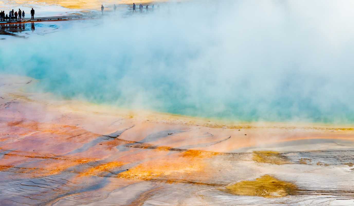 Stunning Colors of the Grand Prismatic