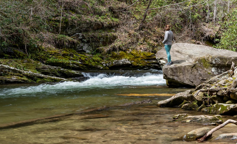 River lookout in Deep Creek