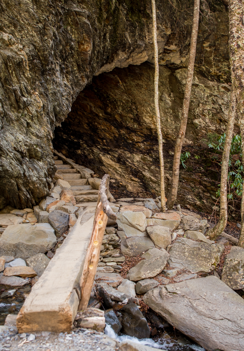 Bridge over Styx Branch to Arch Rock