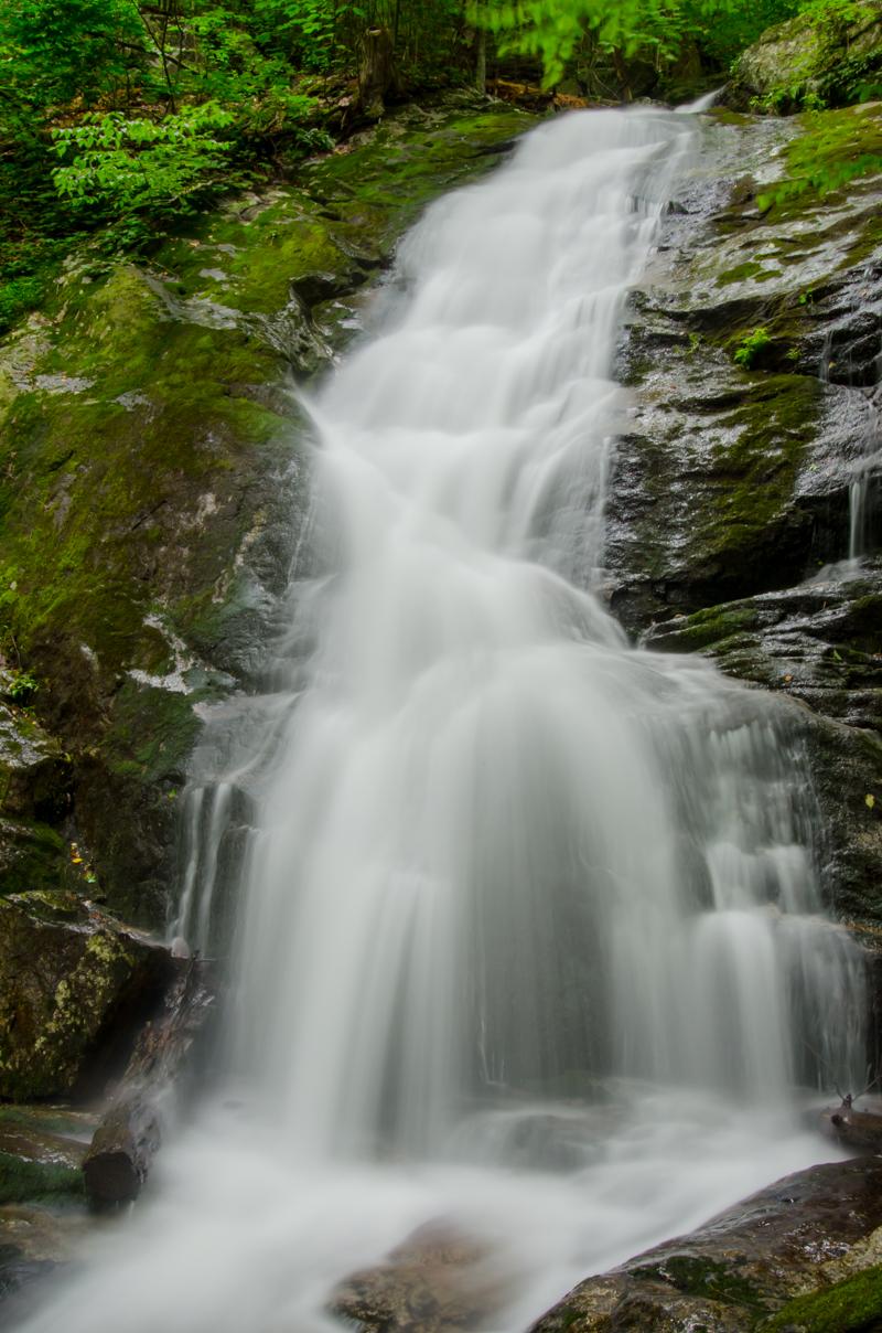 Slow Shutterspeed of Crabtree Falls in Virginia