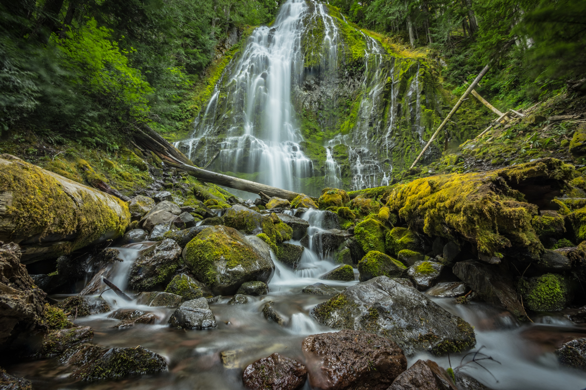Proxy Falls, a short drive from Bend, might be worth the side trip