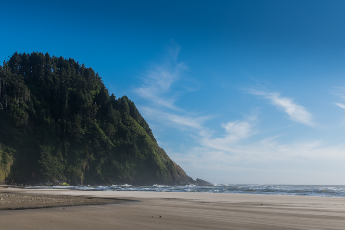Pacific Coast on a Quiet Summer Morning