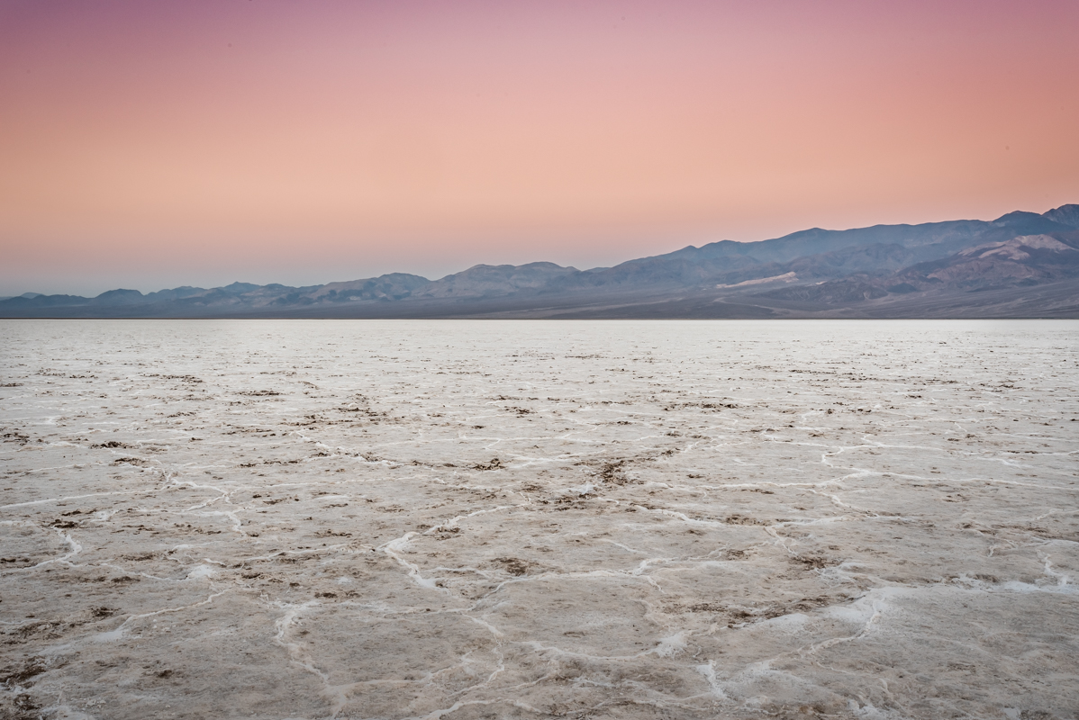 Sunrise Over Salt Flats