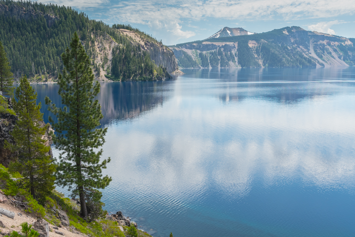 Lake Level View of Crater Lake