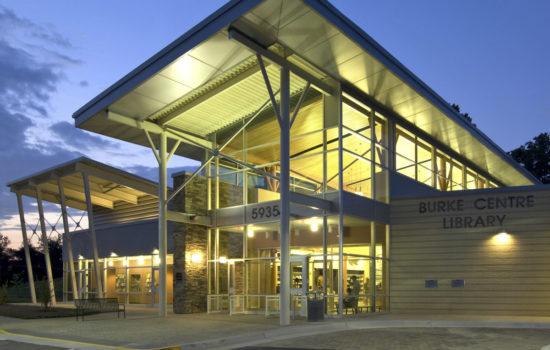 Burke Centre Library* - 5935 Freds Oak Rd, Burke, VA 22015