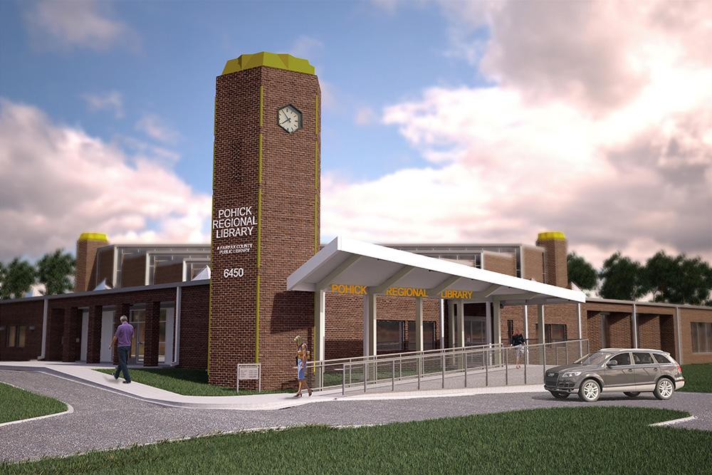 Pohick Regional Library* - 6450 Sydenstricker Rd, Burke, VA 22015