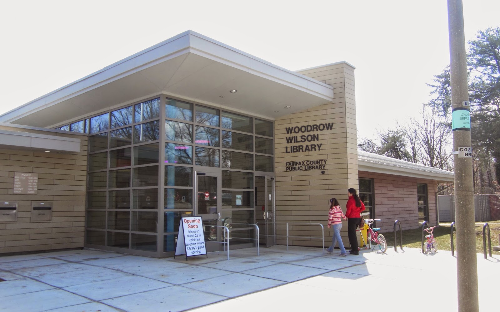 Woodrow Wilson Library - 6101 Knollwood Dr, Falls Church, VA 22041