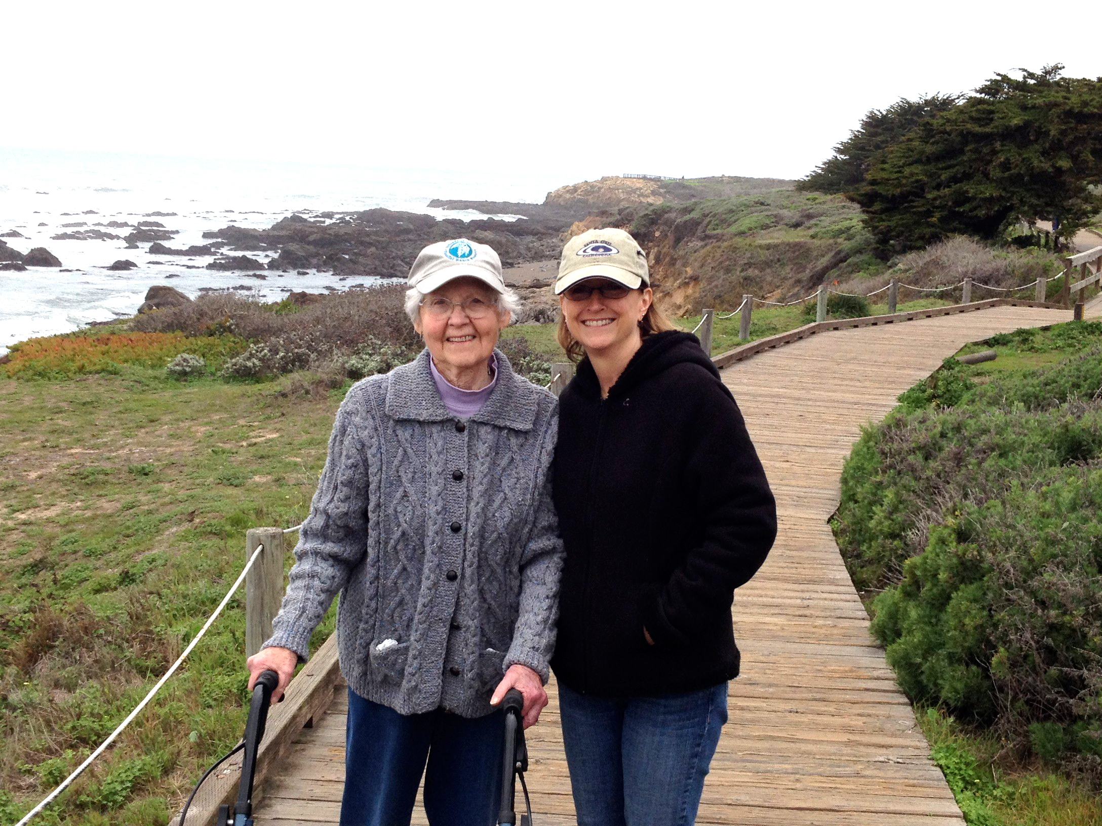 Mom and I,  2014