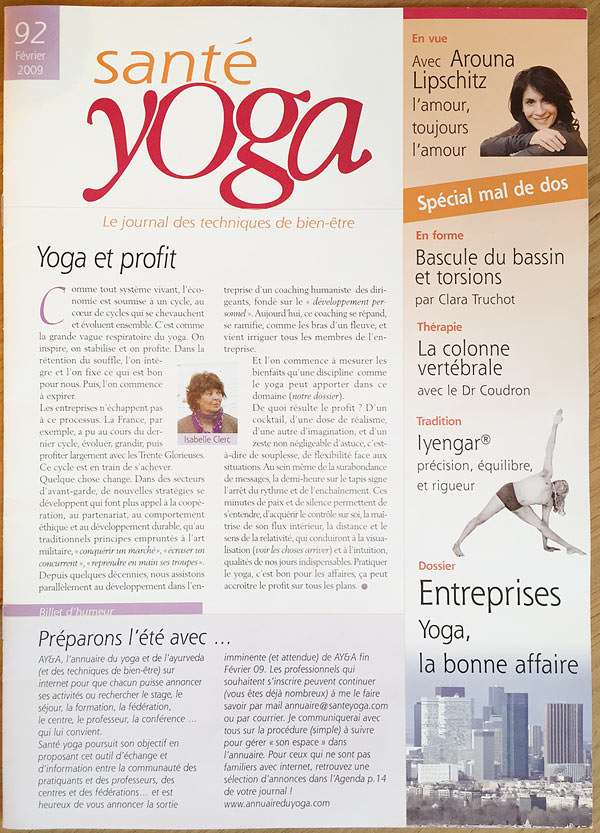 Yoga-Geneve-Geneva-INNERCITYOGA-Studio-Press-Article-Newspaper-Magazine-Sante-2009-Cover.jpg