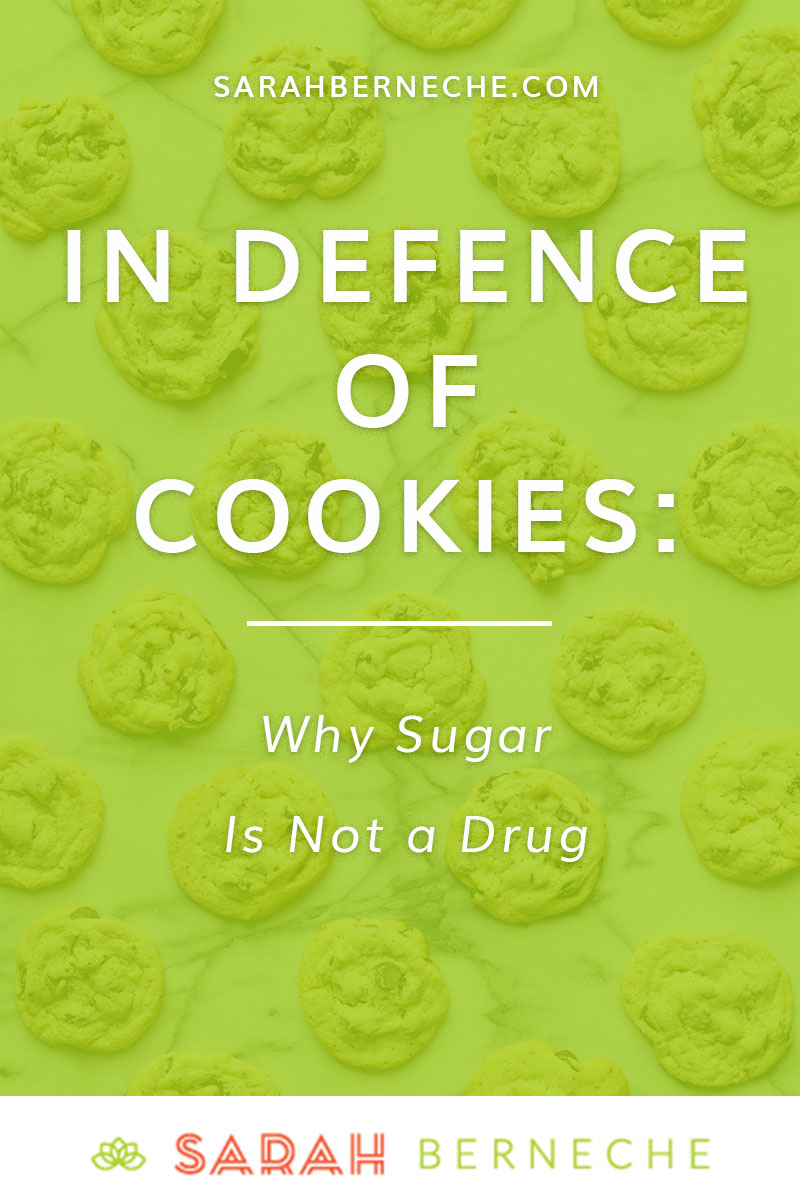 Intuitive eating | Health at Every Size | Anti-Diet. In Defence of Cookies - why sugar is not a drug.