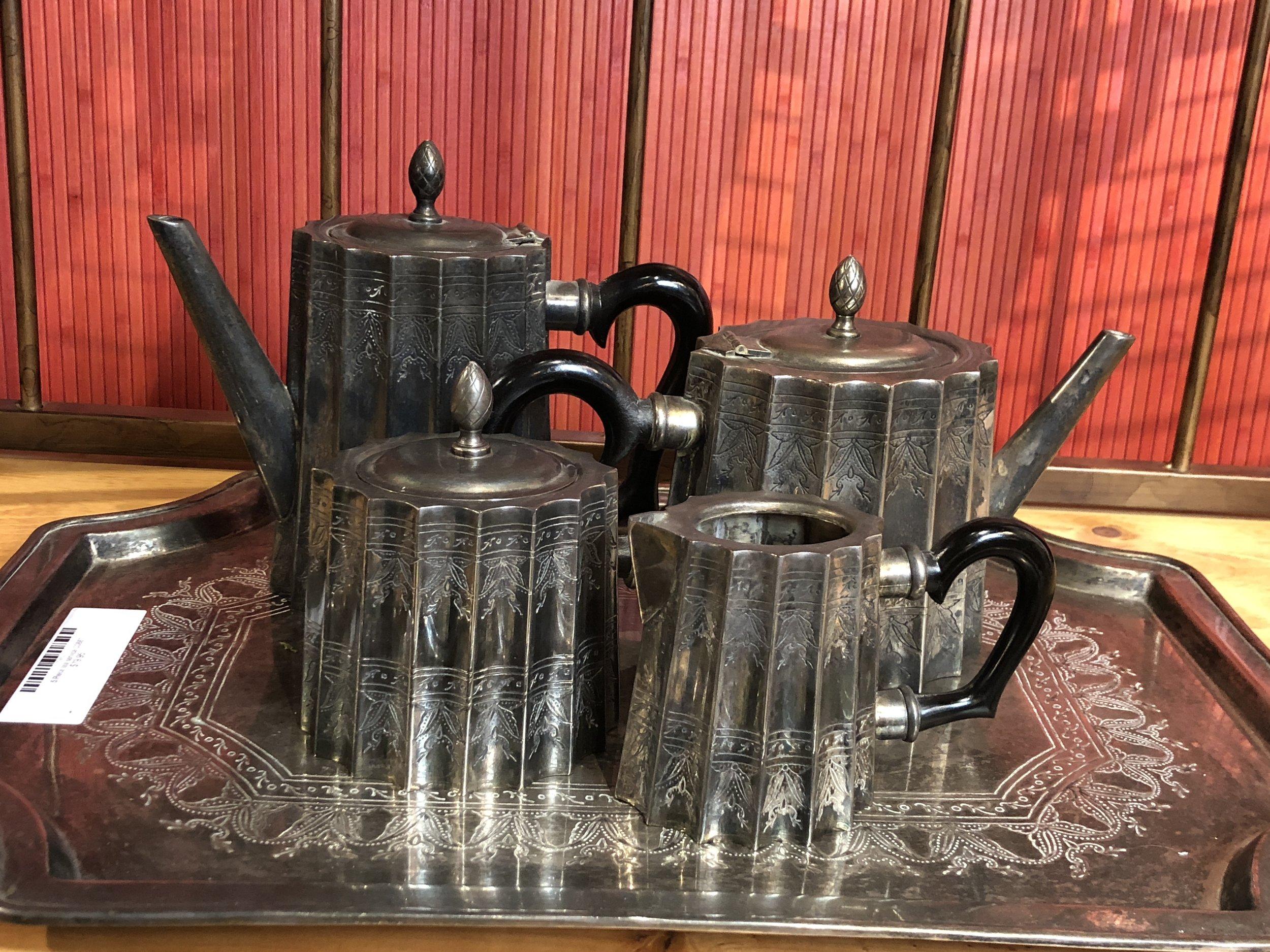 5 Piece Tea Service   C0887   -    17021