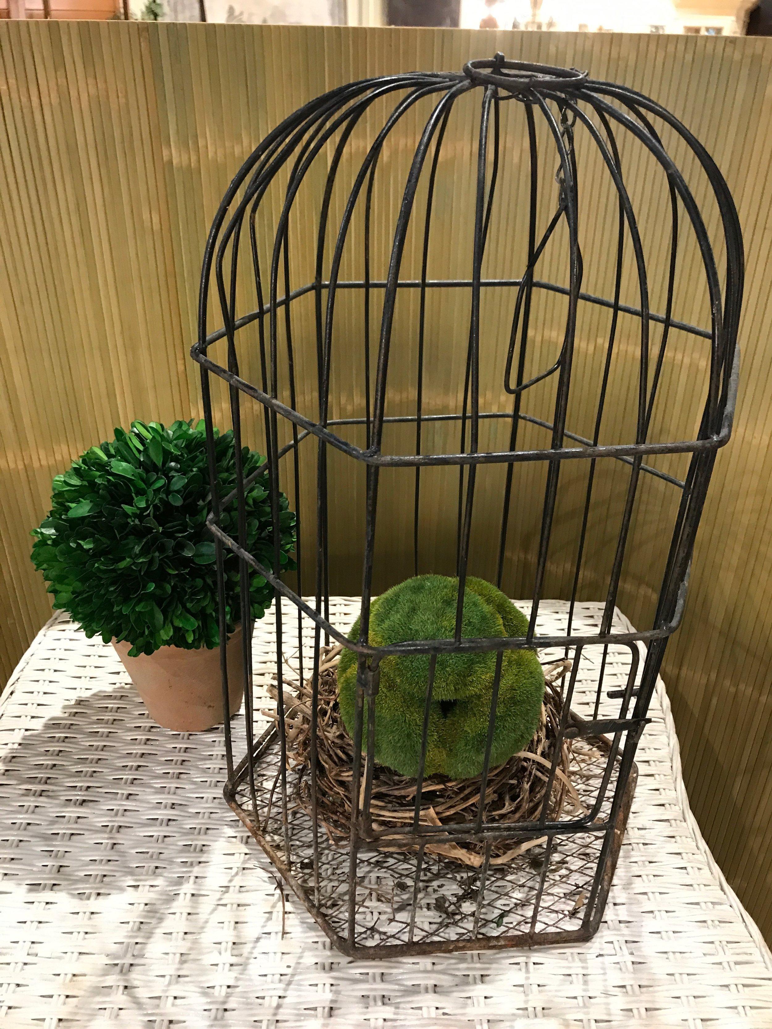 Vintage Birdcage $39.95  001     19332