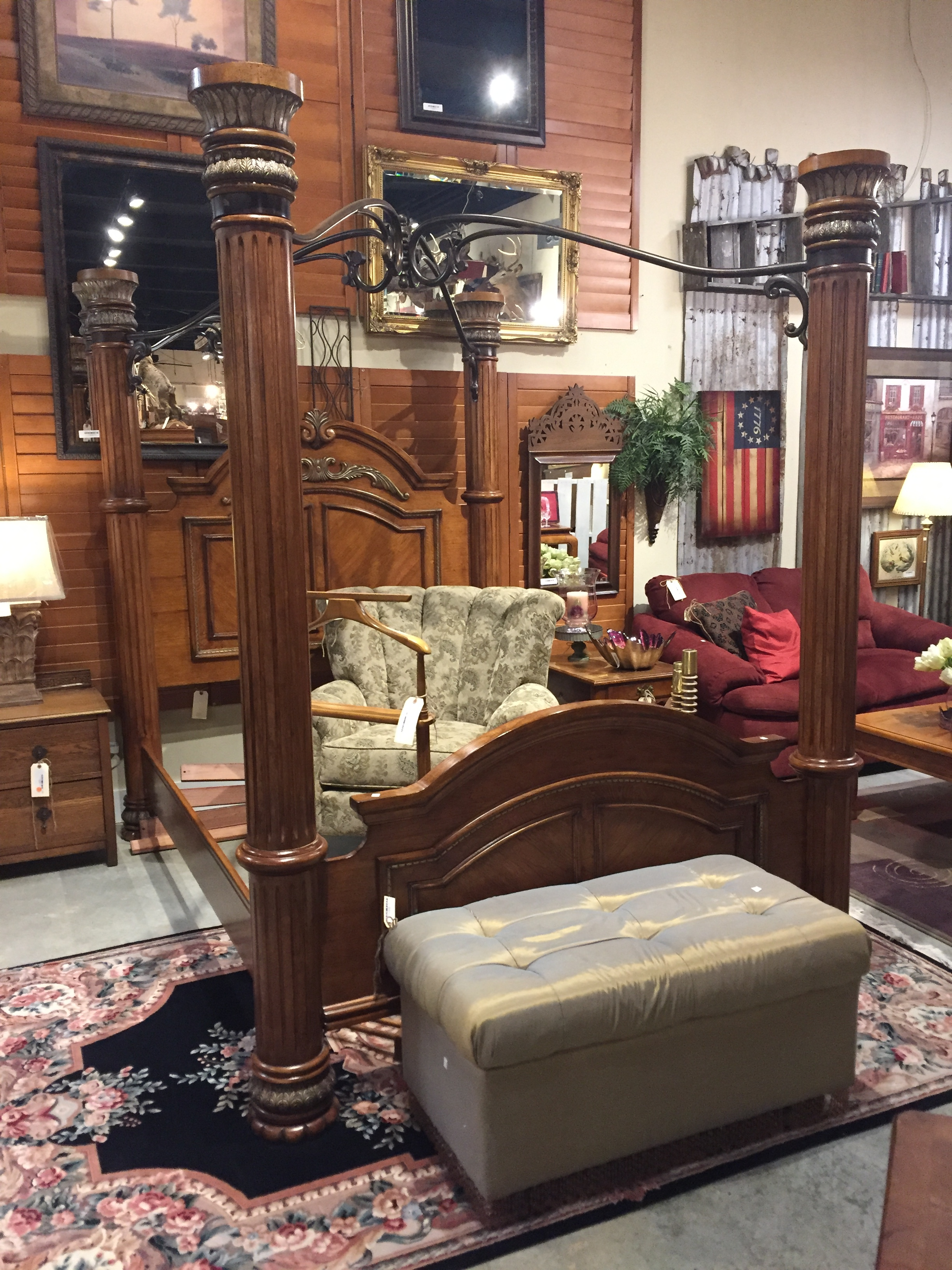 4 Post Queen Bed $849.00  C0982  -  20129