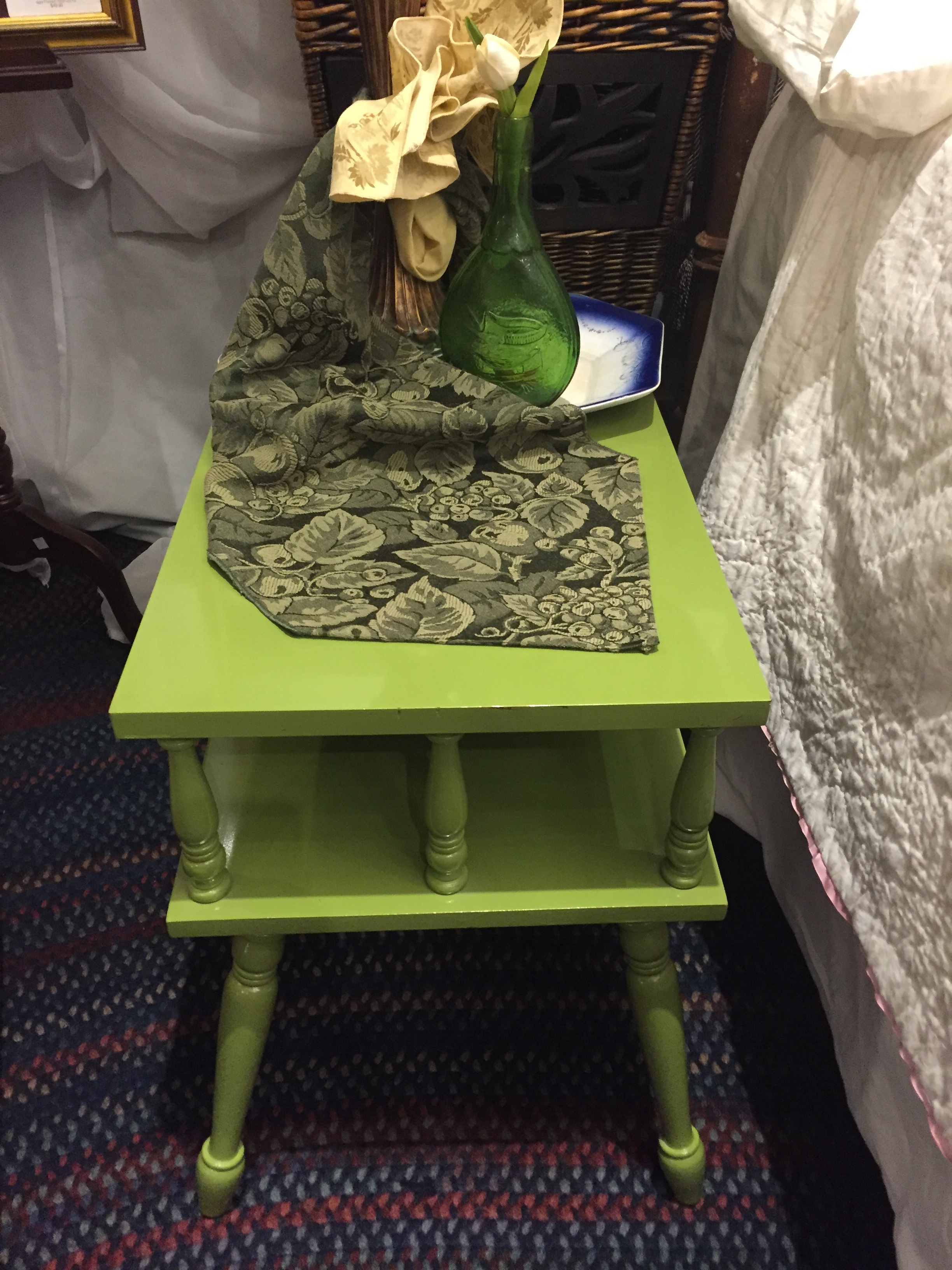 Green Side Table $39.95 - C0826 21864