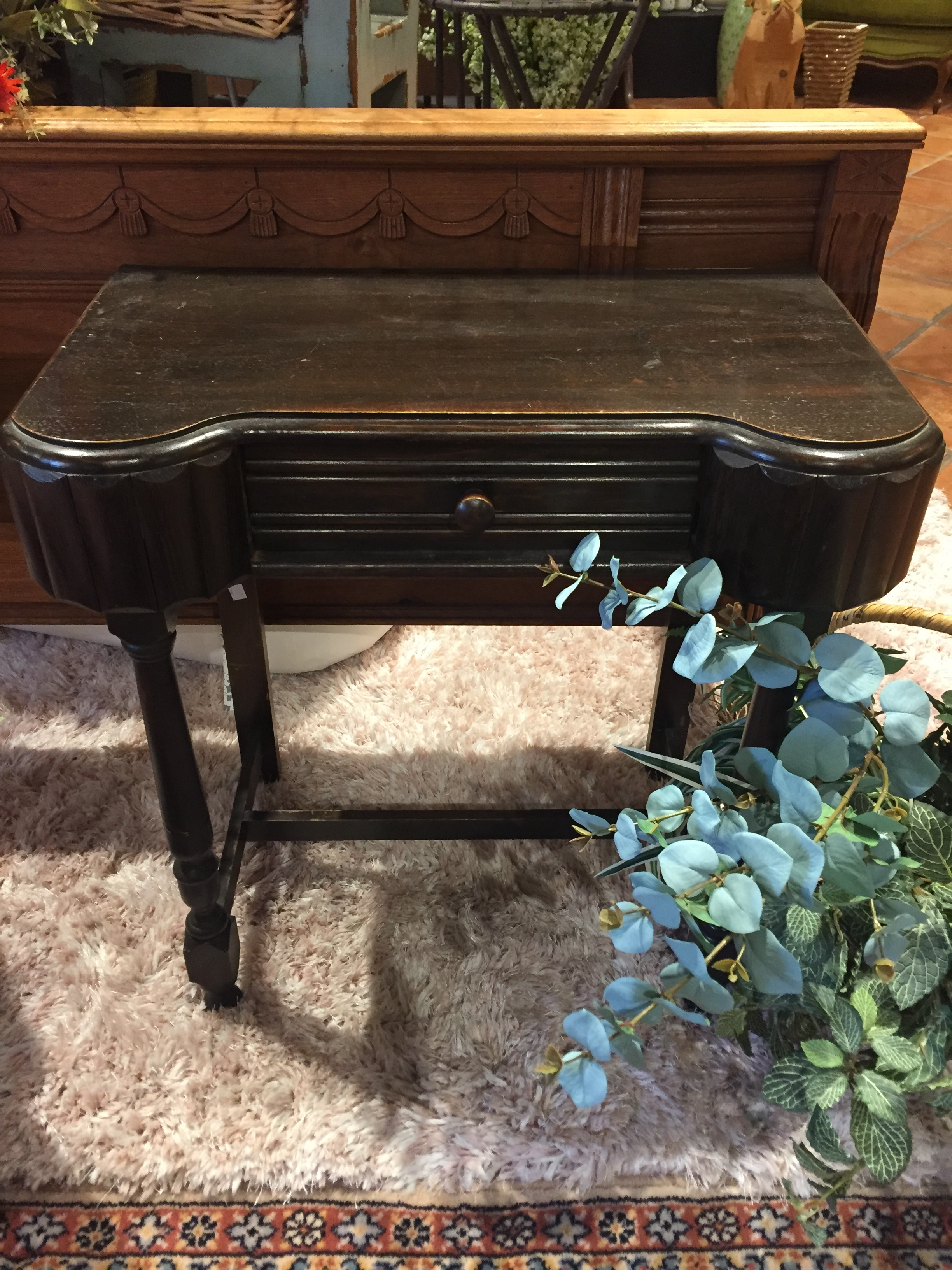 Unique Side Table with Drawer $89.95 - C0992 20723