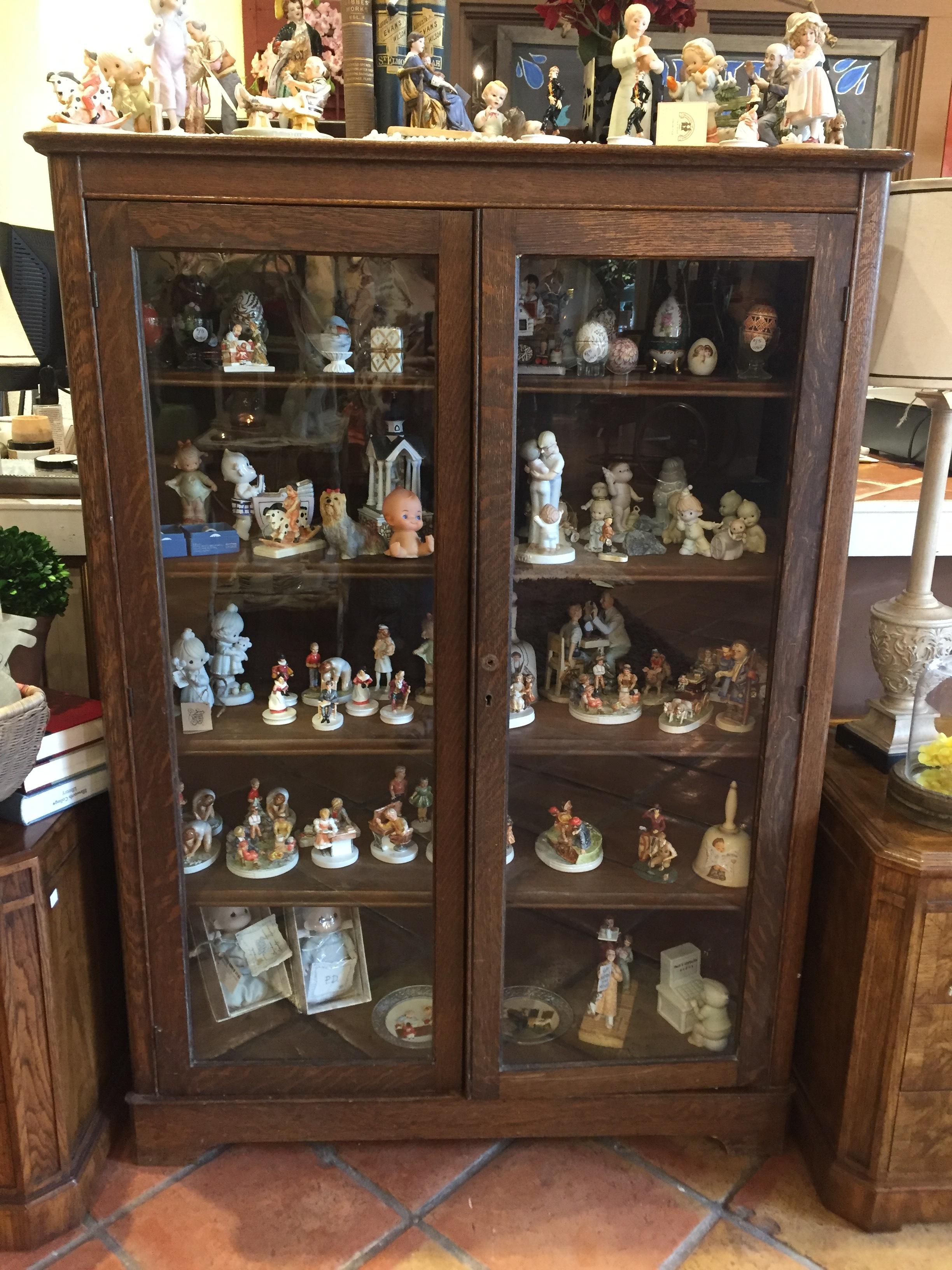 Antique Display Cabinet $299.95 - C0994 21618