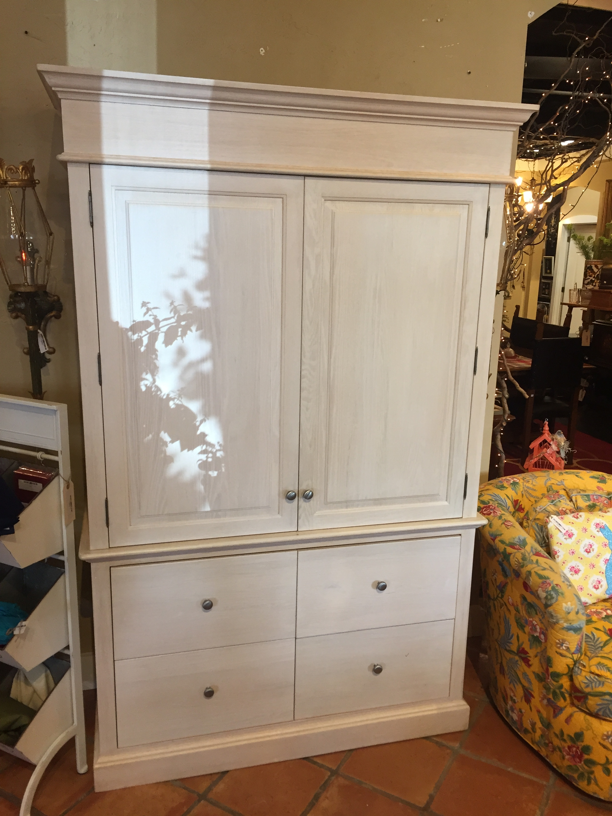 Large Cream Wardrobe $795.95 - C1060 22607