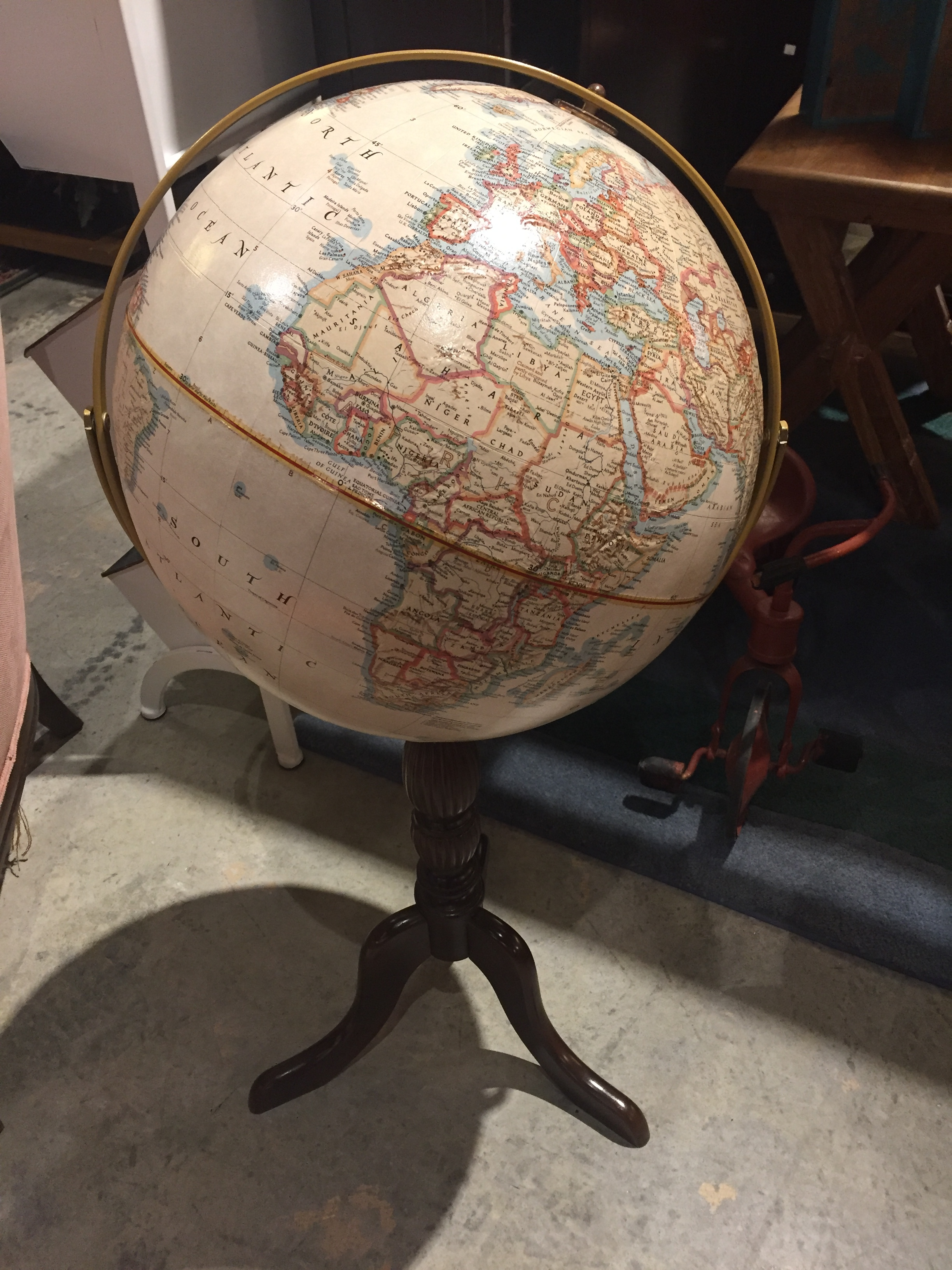 Vintage Globe $99.95 - C1033 22519