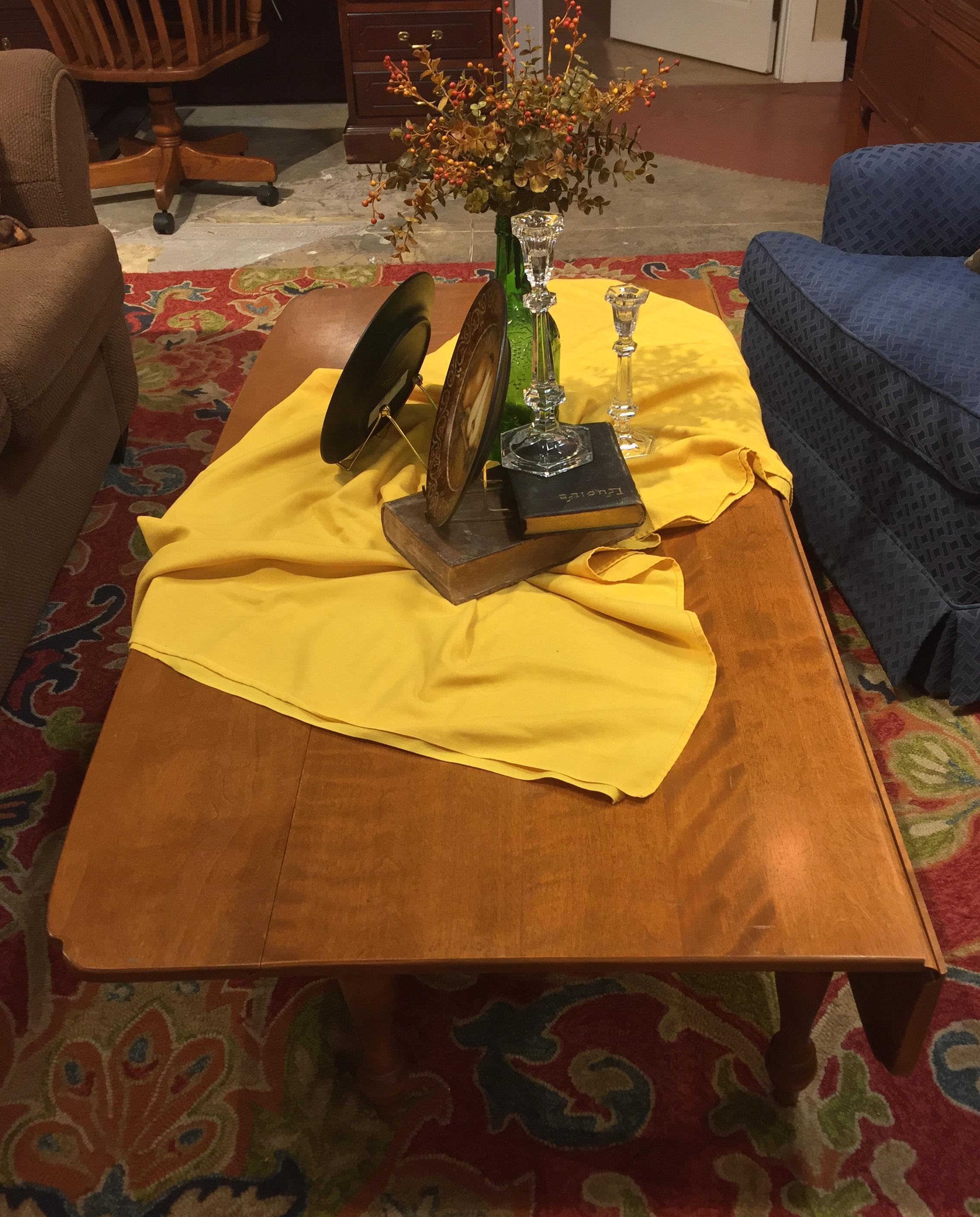 SOLD! Drop Leaf Coffee Table $69.95 - C1038 22723