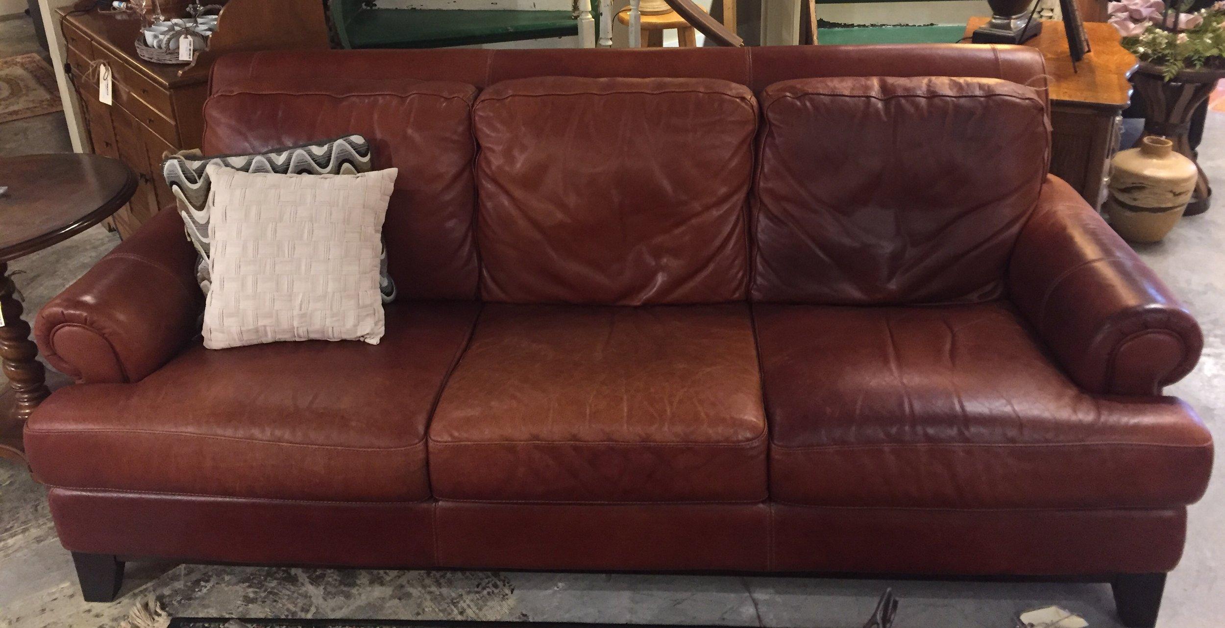 Leather Sofa $799.95 - C1113 24050