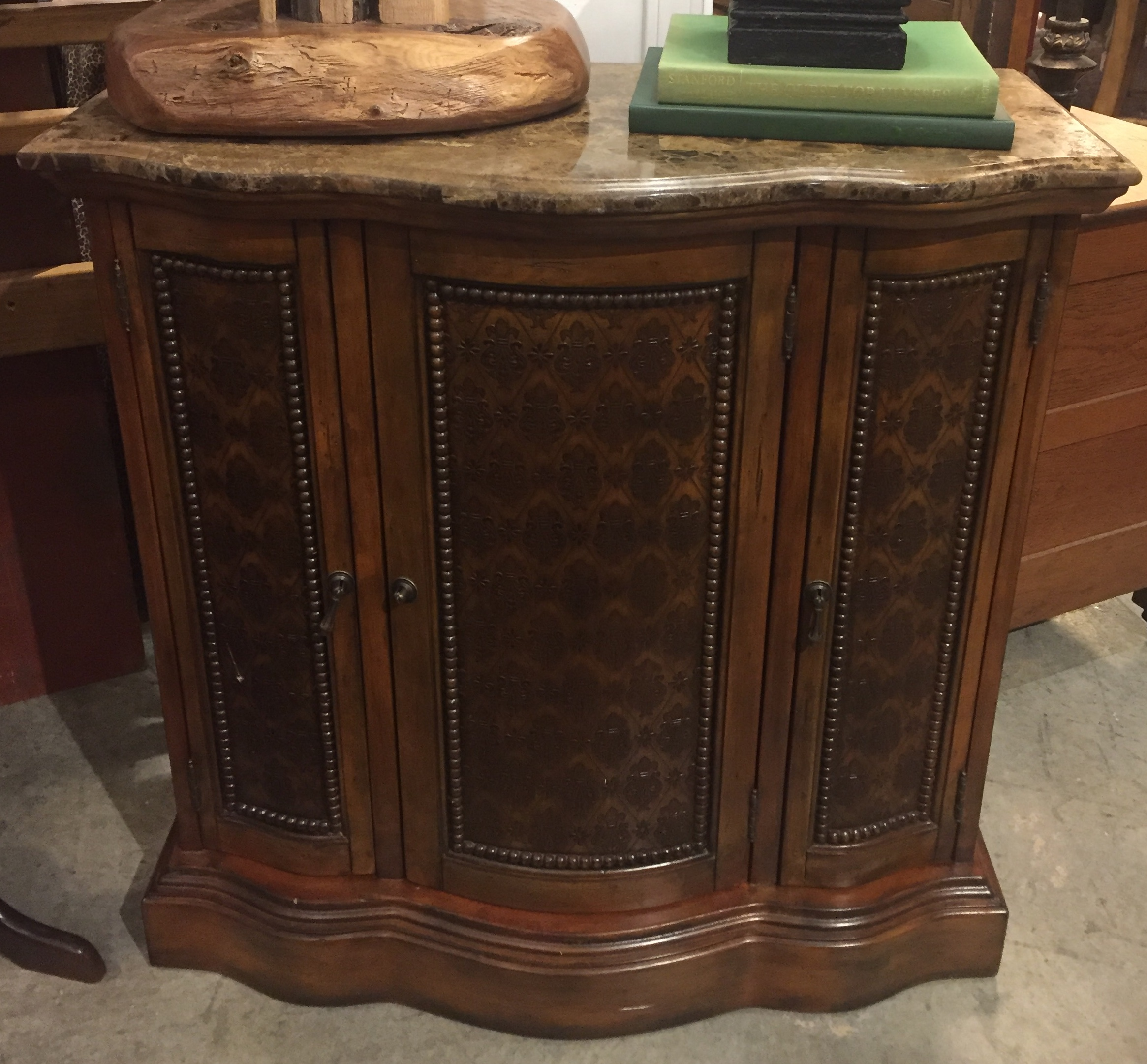 Marble Top Entry Cabinet $189.95 - C1108 24331