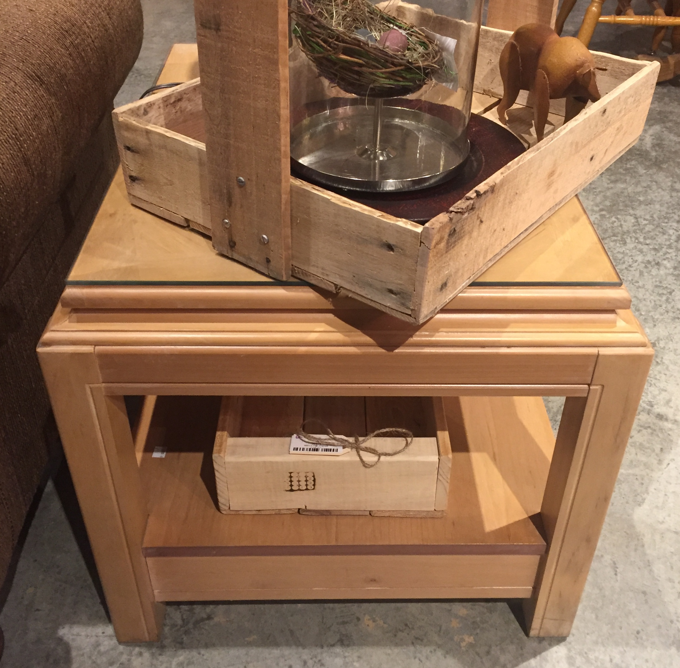Blond End Table $59.95 - C1125 24340