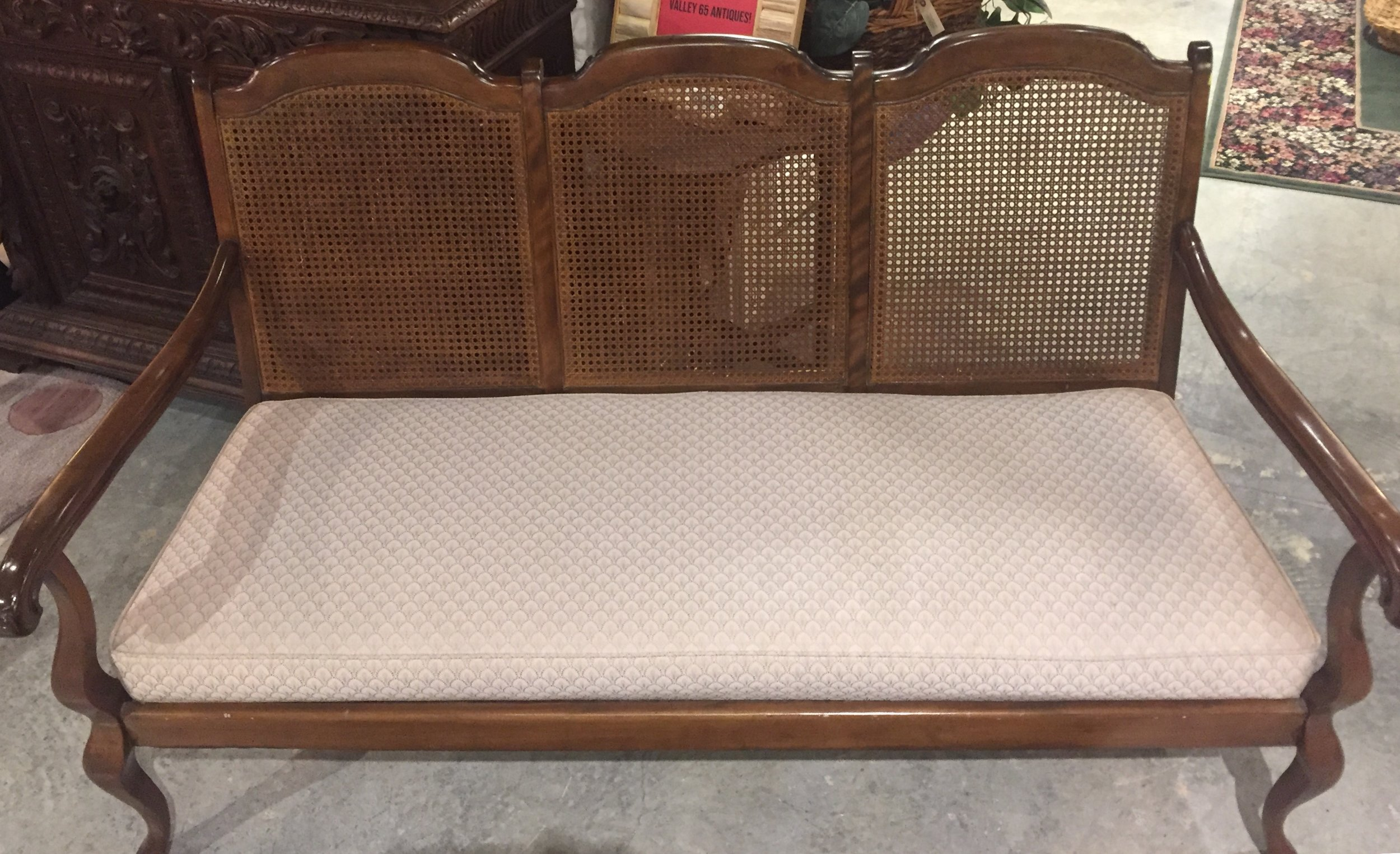 Cane Back Settee $274.95 - C1080 24417